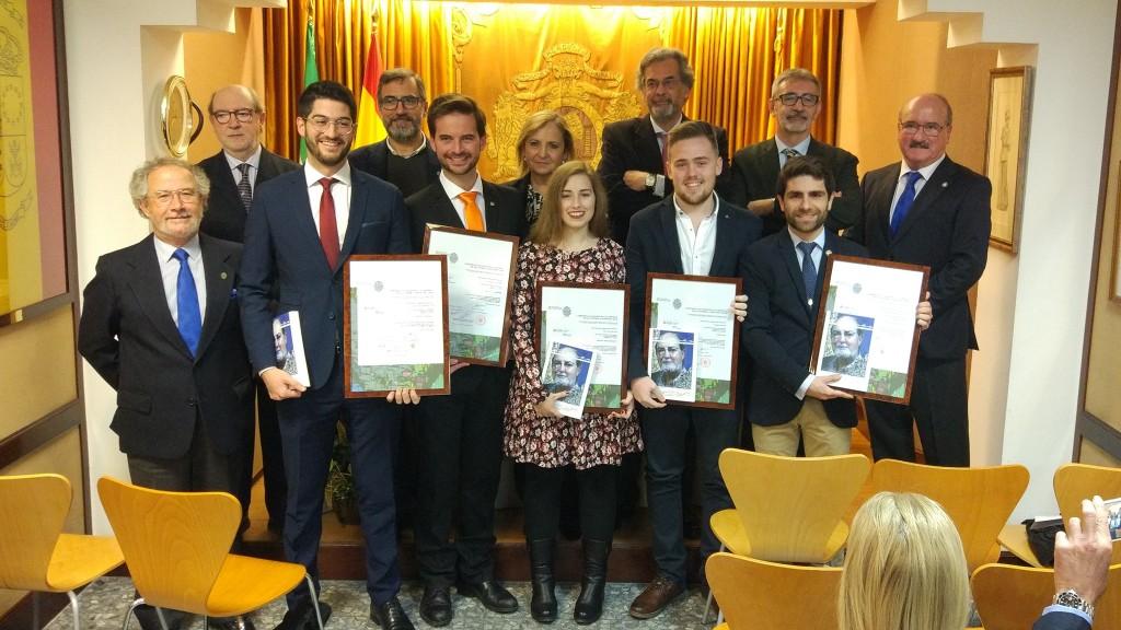 IMG Entrega I Premios Cátedra Ateneo de Cádiz-UCA a la Excelencia Académica